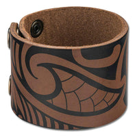 NĀ KOA KA22 Tribal tattoo cuff - Design: Ipu by Hano Fernandez
