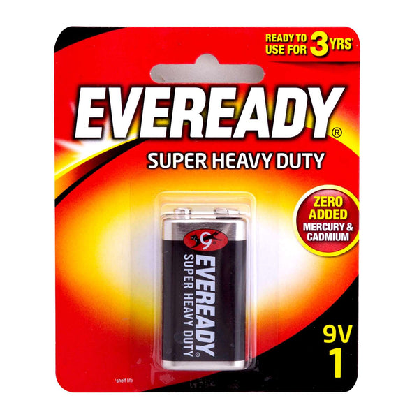 EVEREADY SUPER HEAVY DUTY 9V 1 (1222BP1)