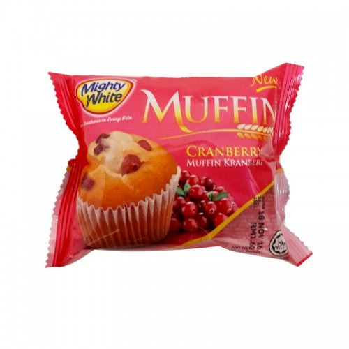 Mighty White Muffin Cranberry 70g
