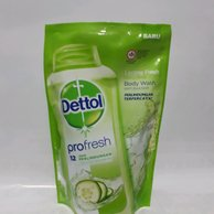 Dettol Body Wash Pro Fresh Lasting Fresh Refill 800ml