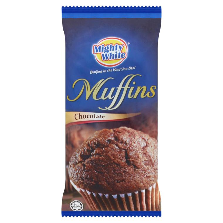 Mighty White Muffin Chocolate Chip 120g
