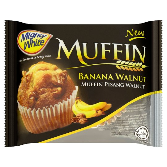 Mighty White Muffin Banana Walnut 70g