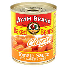 Ayam Brand Baked Beans Cheese 230gm