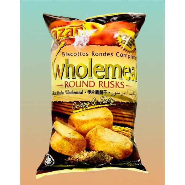 Azan Wholemeal Rusks 250g