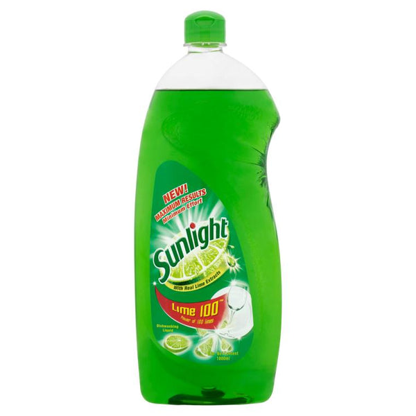 Sunlight Dishwashing Liquid Lime 1L