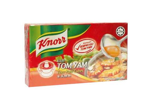 Knorr cube tom yam 60g