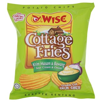 Wise Cottage Fries Sour Cream&Onion 65g