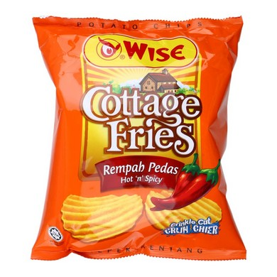 Wise Cottage Fries Hot&Spicy 65g