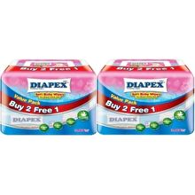Diapex Soft Baby Wipes 80 Sheets Pack of 2