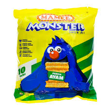 Mamee Monster Family Pack Chicken 8 X 25g
