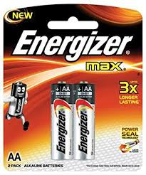 Energizer Max AA 2Pack (E91BP-2)