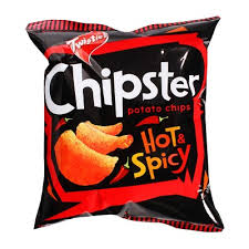 Twisties Chipster hot & spicy 60G