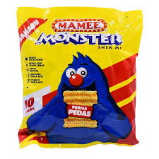 Mamee Monster Family Pack Hot & Spicy 8 X 25g