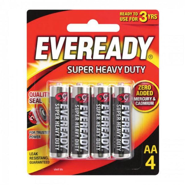 EVEREADY SUPER HEAVY DUTY AAA4 (1212BP4HI)