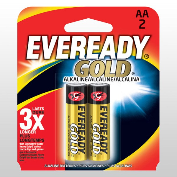 EVEREADY GOLD AA2 (A91BP2)