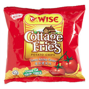 Wise Cottage Fries Tomato Ketchup 65g