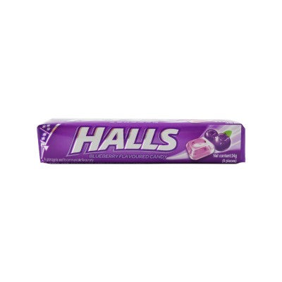 Halls Stick Blueberry 34g