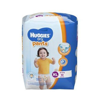 Huggies Dry Pants Regular XL 10's