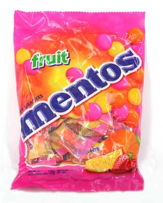 Mentos Fruit Flavour 36 pcs