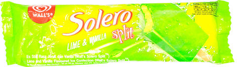 WALL'S Solero Split Lime 64ml