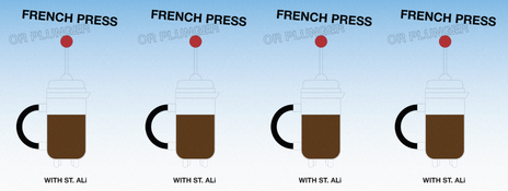 PLUNGE IN—A FRENCH PRESS BREW GUIDE