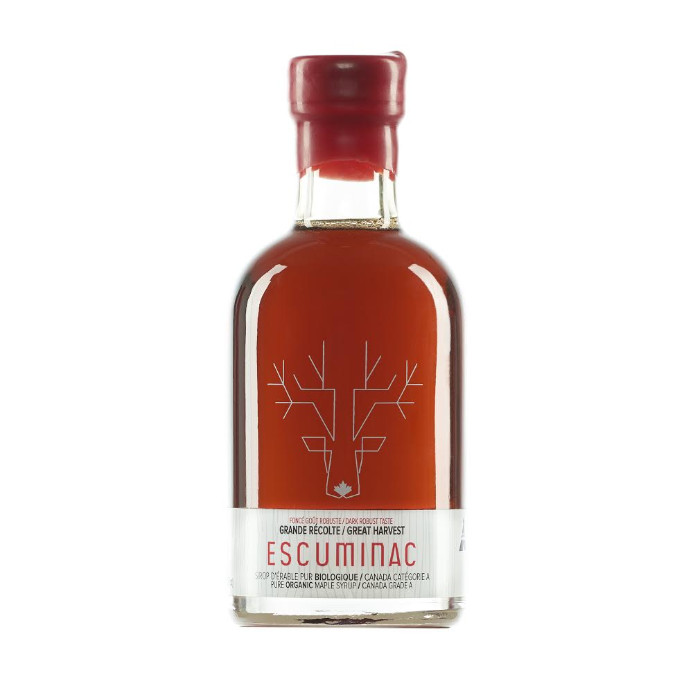 ESCUMINAC CANADIAN MAPLE SYRUP 200G