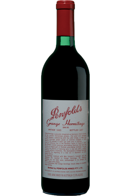 1985 PENFOLDS GRANGE (signed by Max Schubert)