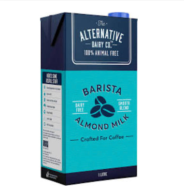 ALTERNATIVE DAIRY CO. ALMOND MILK 1L