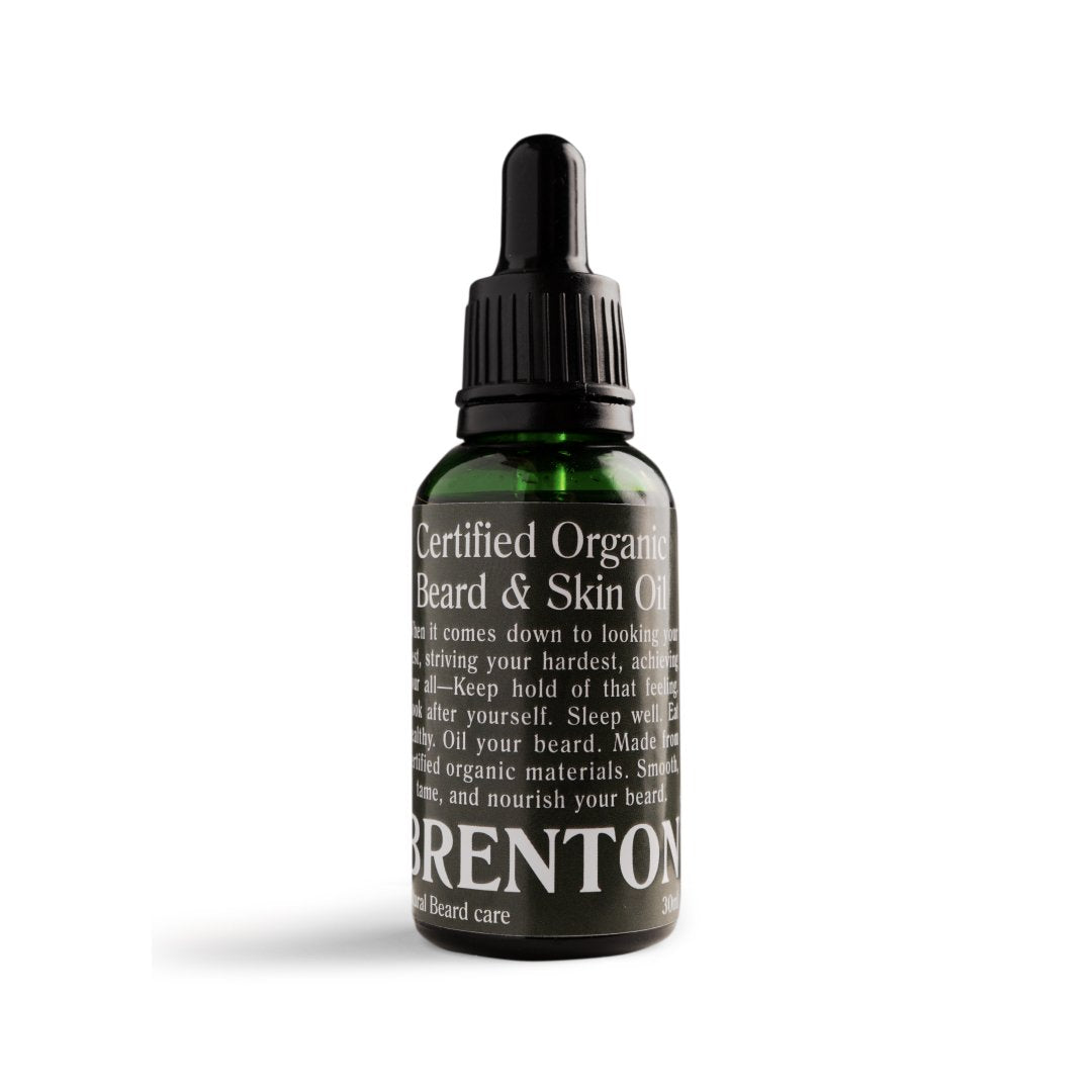 BRENTON ORGANIC BEARD & SKIN OIL - BF DEAL