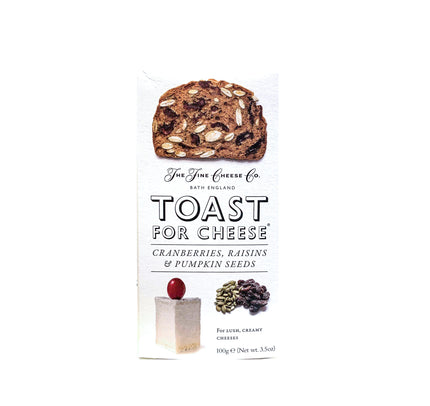 FINE CHEESE CO. CRANBERRY & RASIN TOASTS
