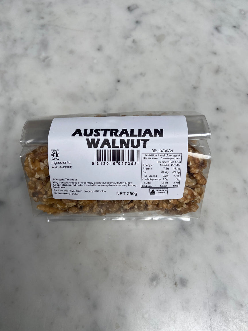 RAW AUSTRALIAN WALNUTS