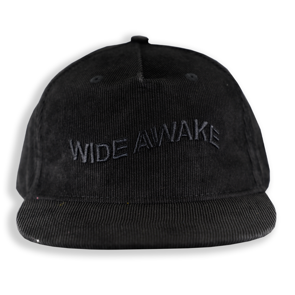 WIDE AWAKE DAD CAP BLACK