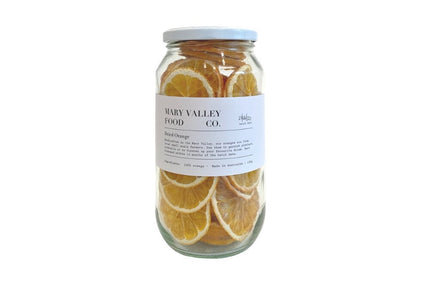 MARY VALLEY CO. DRIED ORANGE