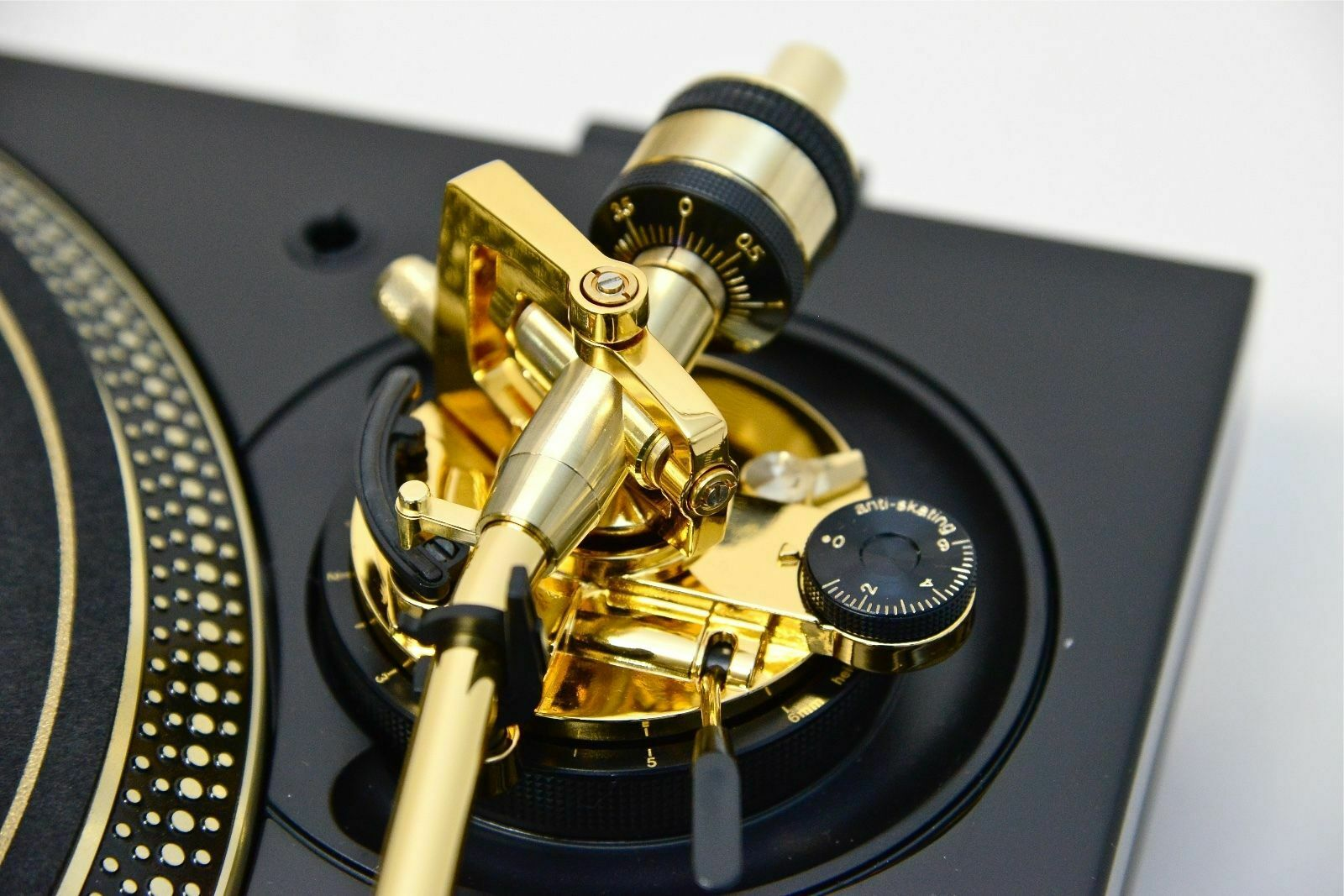 LIMITED EDITION GOLD TECHNICS SL-1200GLD