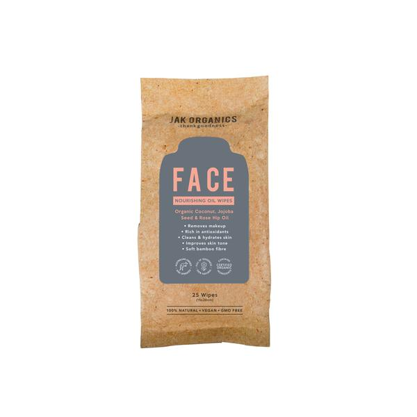 FACE CLEANSING & MOISTURISING WIPES