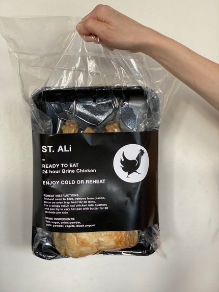 ST. ALi 24-HOUR BRINE CHICKEN