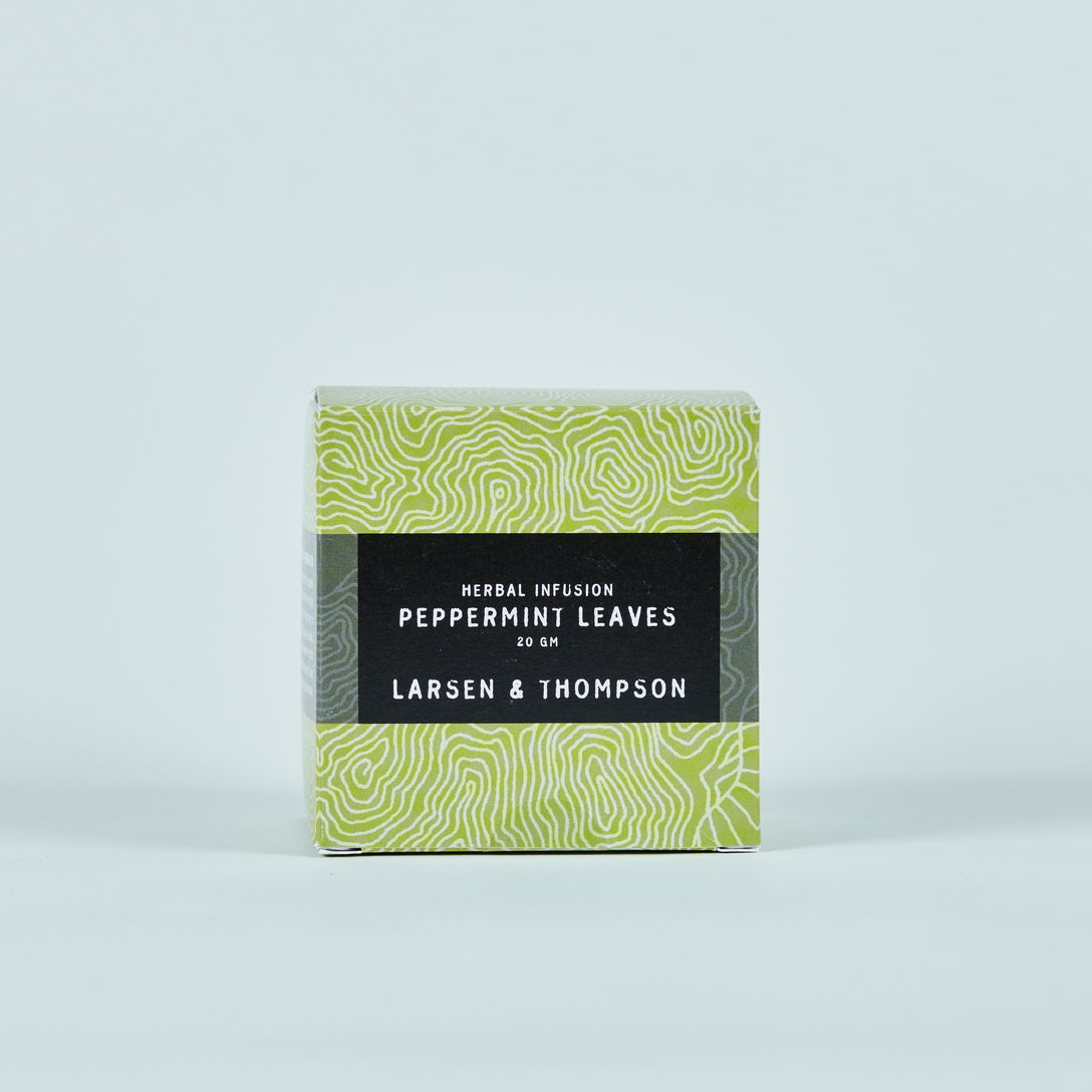 LARSEN & THOMPSON - PEPPERMINT LEAVES 20G