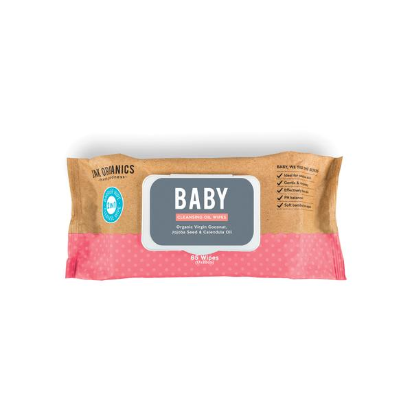 BABY 2-IN-1 CLEANSING & BARRIER WIPES