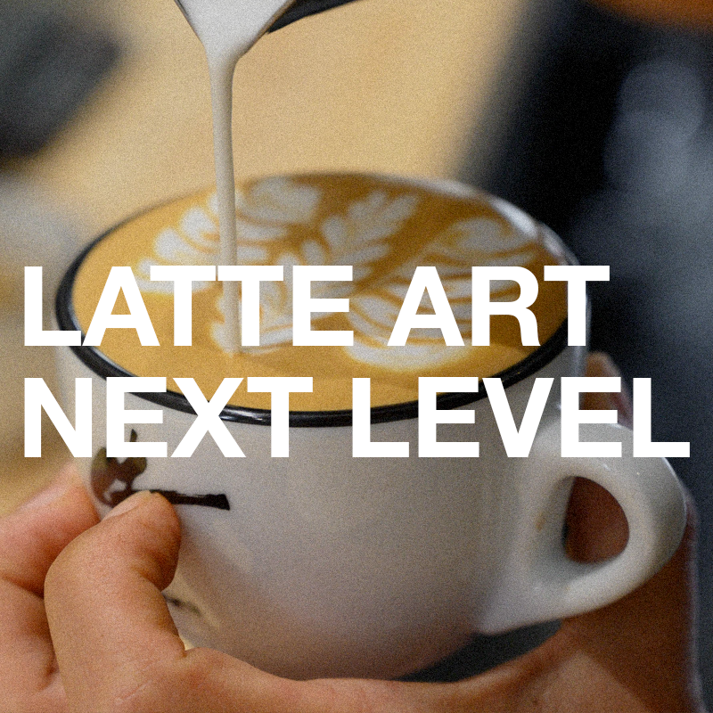 SHIN FUKAYAMA LATTE ART NEXT LEVEL CLASS