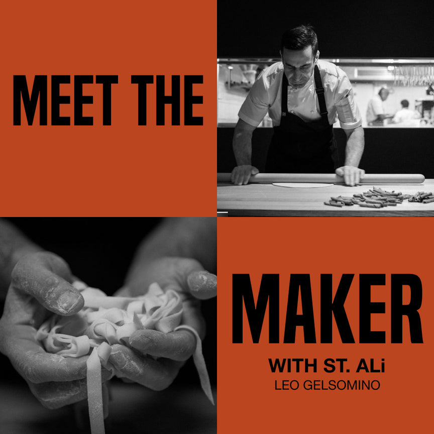 MEET THE MAKER BOX - LEO GELSOMINO (Victoria only)