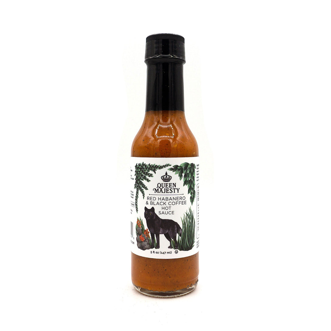 QUEEN MAJESTY HOT SAUCE - RED HABANERO & BLACK COFFEE