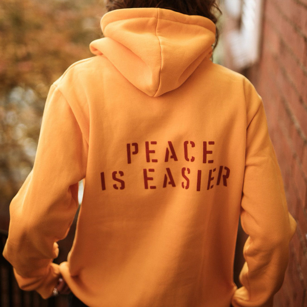 WIDE AWAKE UNISEX HOODIE | PEACE IS EASIER