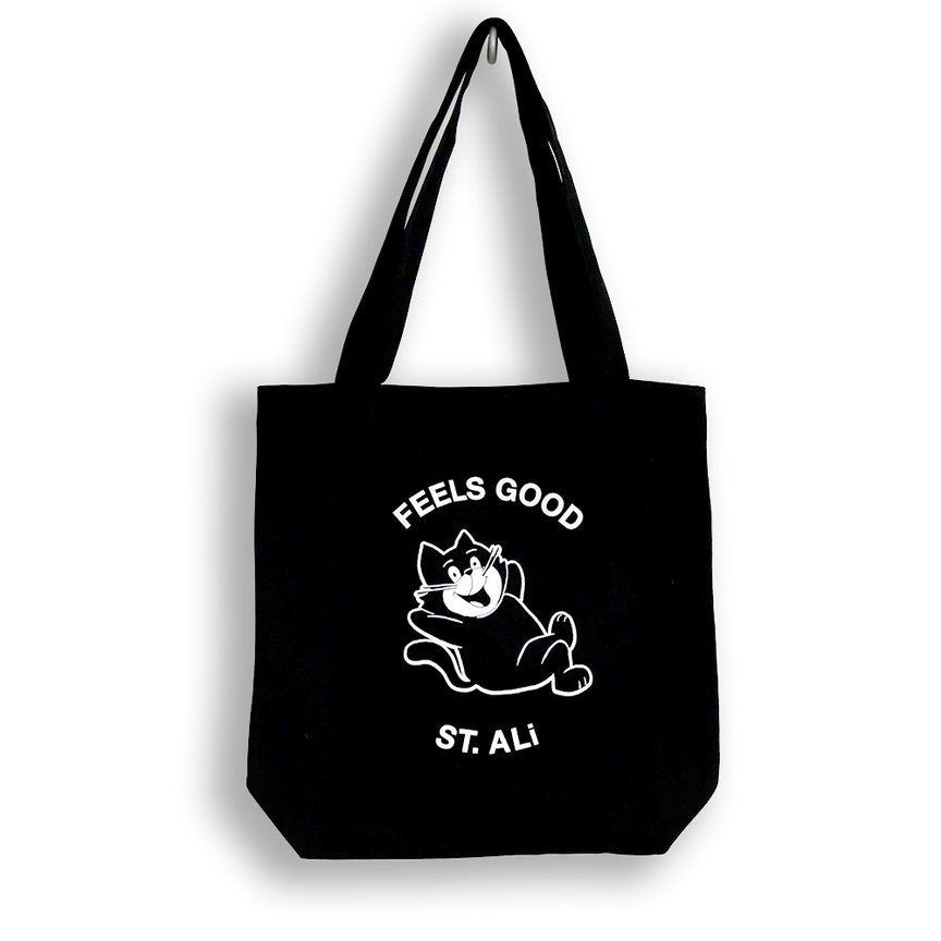 FEELS GOOD CAT TOTE