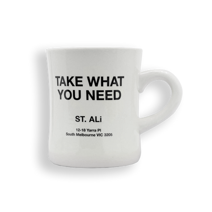 TAKE WHAT YOU NEED MUG