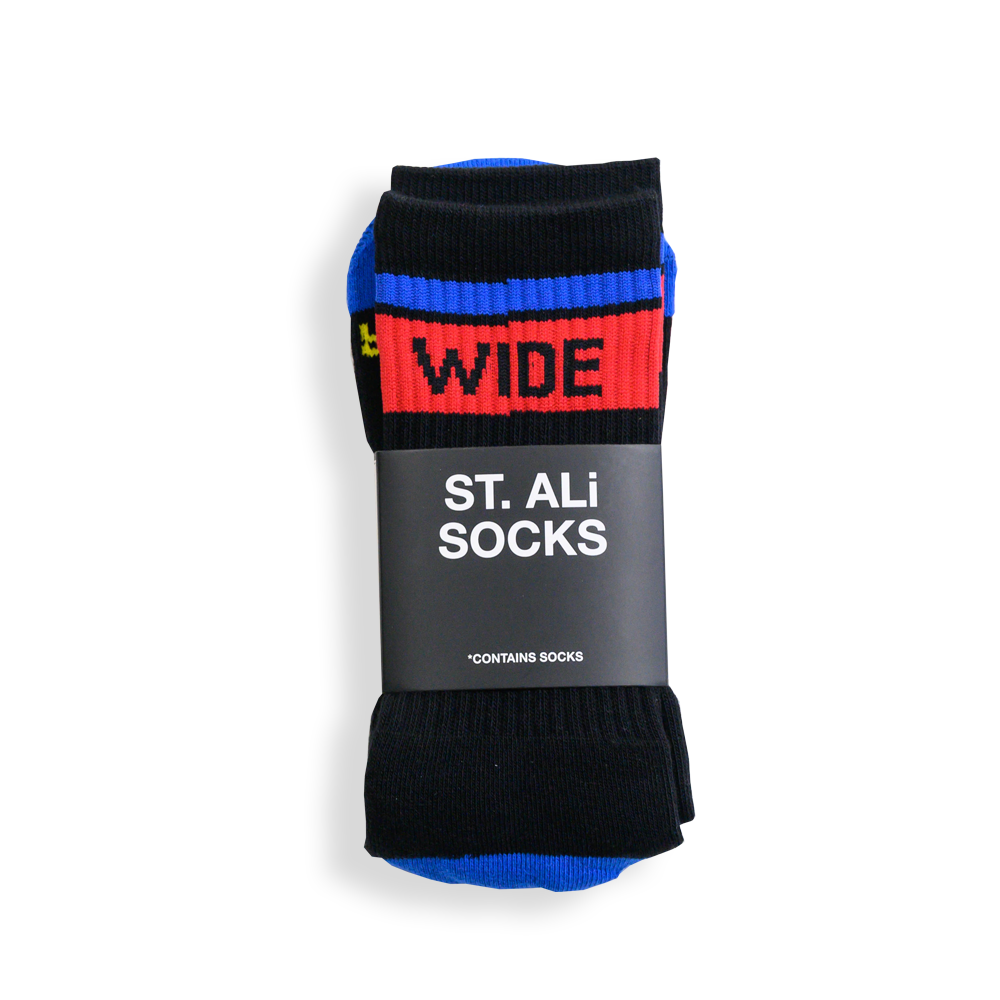 WIDE AWAKE CREW SOCKS