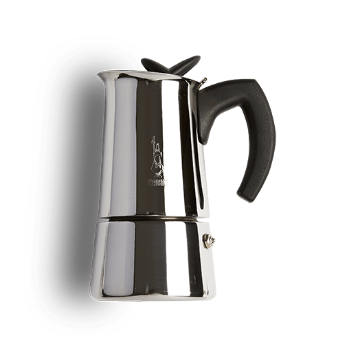 BIALETTI MUSSA STOVETOP COFFEE BREWER