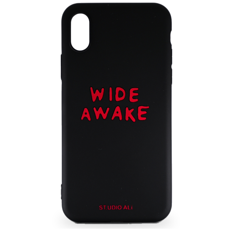 WIDE AWAKE WRITER iPHONE X COVER