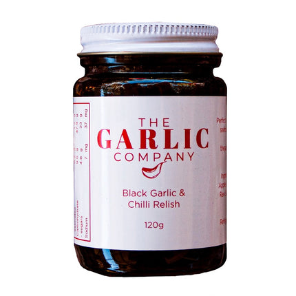 BLACK GARLIC AND CHILLI RELISH (120g)