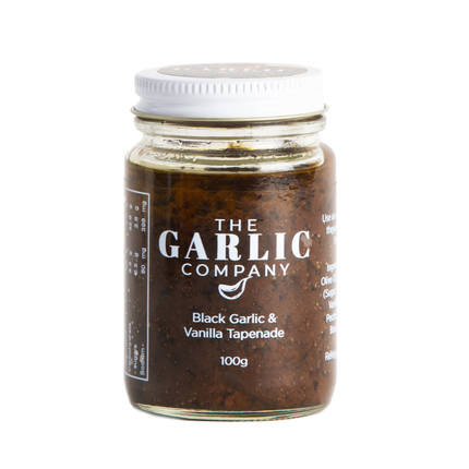 BLACK GARLIC & VANILLA TAPENADE