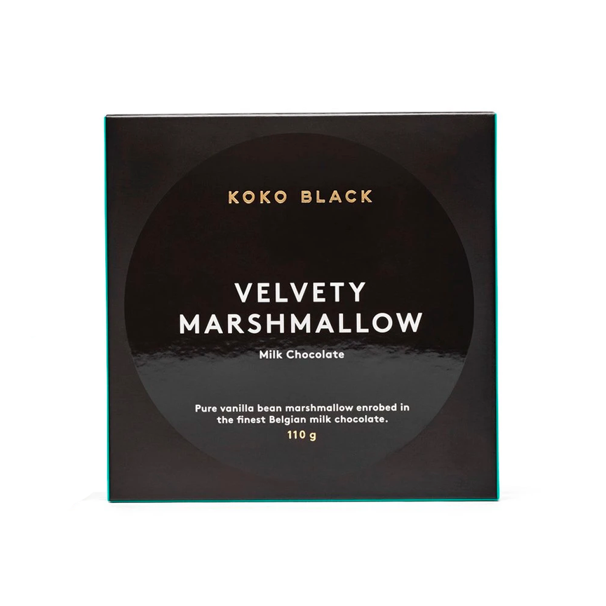 KOKO BLACK VELVETY MARSHMALLOW MILK CHOCOLATE (110g)